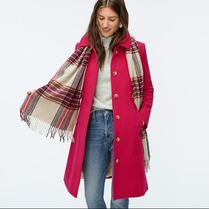 Jcrew New lady day coat italian double cloth AG290